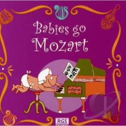 Kladniew, Julio - Babies Go Mozart CD Cover Art