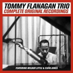 Flanagan, Tommy - Complete Original Recordings: Tommy Flanagan Trio CD Cover Art