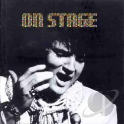 Presley, Elvis - On Stage CD Cover Art
