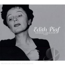 Piaf, Edith - Platinum Collection CD Cover Art