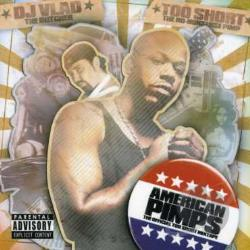 DJ Vlad / Too Short - American Pimps CD Cover Art