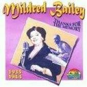 Bailey, Mildred - 1935-1944: Thanks For The Memory CD Cover Art