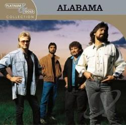 Alabama - Platinum & Gold Collection CD Cover Art