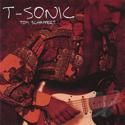 T-Sonic Tom Schaffert - T-Sonic CD Cover Art