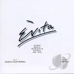 Highlights From Evita (Original Broadway Cast) CD Cover Art
