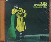 Spedding, Chris - Friday the 13th CD Cover Art