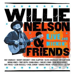 Nelson, Willie - Live and Kickin' CD Cover Art