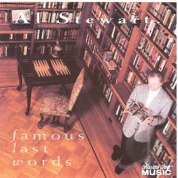 Stewart, Al - Famous Last Words CD Cover Art