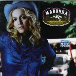 Madonna - Music CD Cover Art