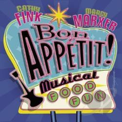 Cathy Fink & Marcy Marxer - Bon Appetit! Musical Food Fun CD Cover Art