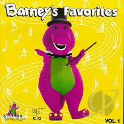 Barney / Original Soundtrack - Barney's Favorites, Vol. 1 CD Cover Art