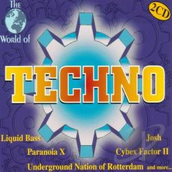 World Of Techno CD Cover Art