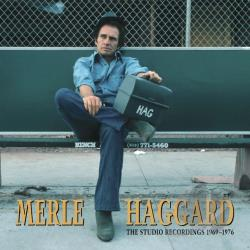 Haggard, Merle - Hag: The Studio Recordings 1969-1976 CD Cover Art