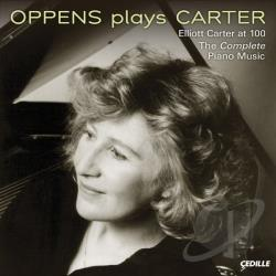 Carter / Oppens - Oppens Plays Carter CD Cover Art