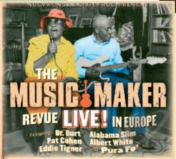 Music Maker Revue - Live In Europe CD Cover Art