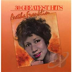 Franklin, Aretha - 30 Greatest Hits CD Cover Art