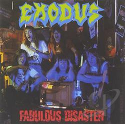 Exodus - Fabulous Disaster CD Cover Art