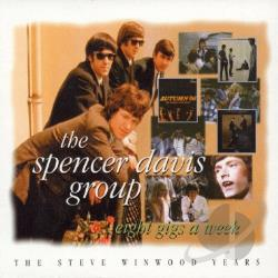 Spencer Davis Group - 8 Gigs A Week CD Cover Art