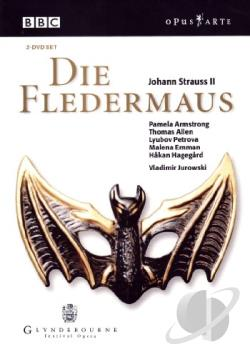 Strauss - Die Fledermaus DVD Cover Art