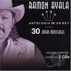 Ayala, Ramon - Antologia de un Rey CD Cover Art