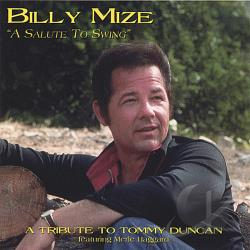 Mize, Billy - Salute To Swing CD Cover Art