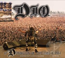 Dio - Dio at Donington UK: Live 1983 & 1987 CD Cover Art