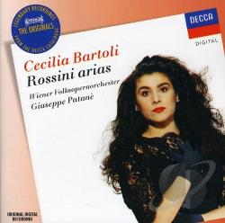 Bartoli.Cecilia / Rossini - Rossini Arias CD Cover Art