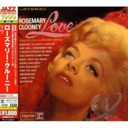 Clooney, Rosemary - Love CD Cover Art