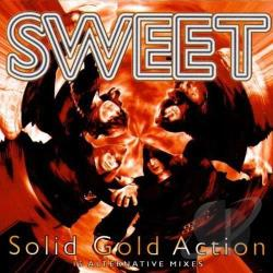 Sweet - Solid Gold Action: 15 Alternative Mixes CD Cover Art