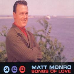 Monro, Matt - Songs of Love CD Cover Art