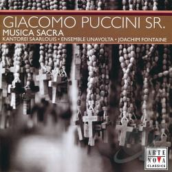 Ensemble UnaV / Fontaine: cnd. - Giacomo Puccini, Sr.: Musica Sacra CD Cover Art