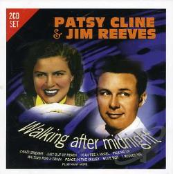 Cline, Patsy / Reeves, Jim - Walking After Midnight CD Cover Art