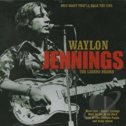 Jennings, Waylon - Only Daddy That'll Walk the Line CD Cover Art