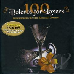 Pazos, John - 100 Boleros For Lovers: Instrumentals For That Romantic Moment CD Cover Art