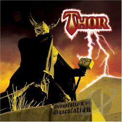 Thor - Devastation Of Musculation CD Cover Art