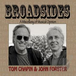 Chapin, Tom / Forster, John / Tom Chapin & John Forster - Broadsides: A Miscellany of Musical Opinion CD Cover Art
