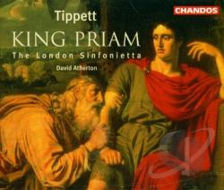 Atherton / London Sinfonietta / Tippett - Tippett: King Priam CD Cover Art