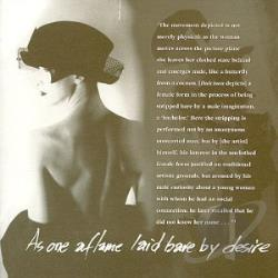 Black Tape For A Blue Girl - As One Aflame Laid Bare by Desire CD Cover Art