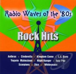 Radio Waves of the '80s: Rock Hits CD Cover Art