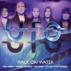 U.F.O. - Walk on Water CD Cover Art