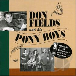 Fields, Don - Last Sessions and Historic Wdev Broadcasts CD Cover Art