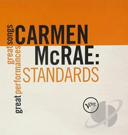 McRae, Carmen - Standards CD Cover Art