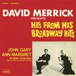 Gary, John - David Merrick Presents Hits From His Broadway Hits DB Cover Art