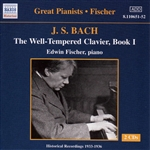 Bach, Johann Sebastian - Bach: The Well-Tempered Clavier, Book 1 CD Cover Art