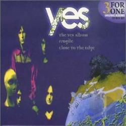 Yes - 3 For 1 Box Set CD Cover Art