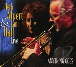 Alpert, Herb - Anything Goes CD Cover Art