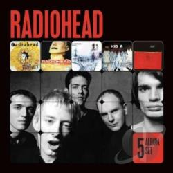 Radiohead - 5 Album Set CD Cover Art