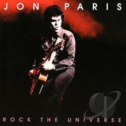Paris, Jon - Rock the Universe CD Cover Art