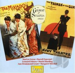 Carte / Gilbert & Sullivan / Godfrey - Gilbert & Sullivan:The Mikado; The Yeomen of the Guard CD Cover Art