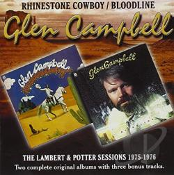Campbell, Glen - Rhinestone Cowboy/Bloodline CD Cover Art